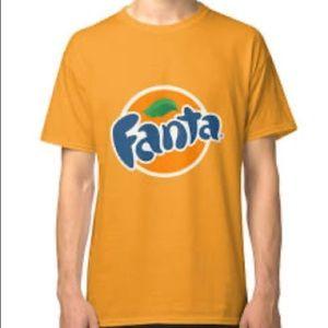 Don't You Wanta? Fanta Orange Soda Tee Shirt Men's
